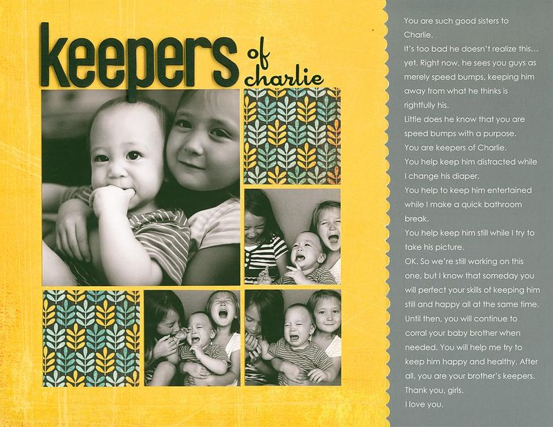 Keepers of charlie re