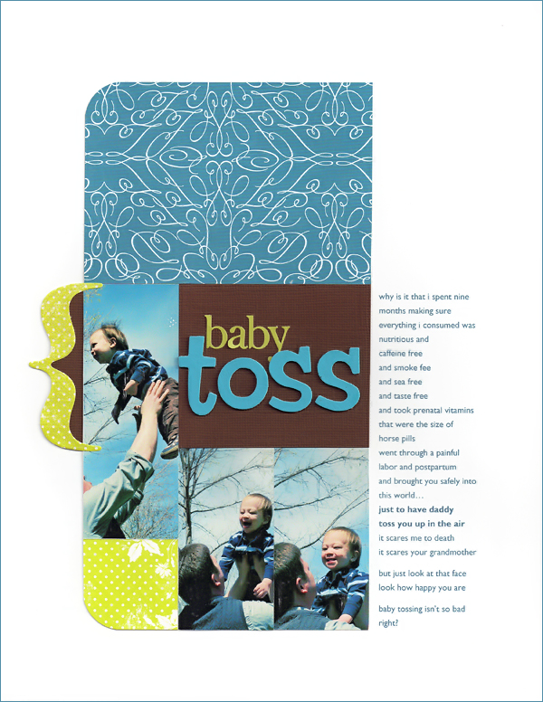 Baby-toss