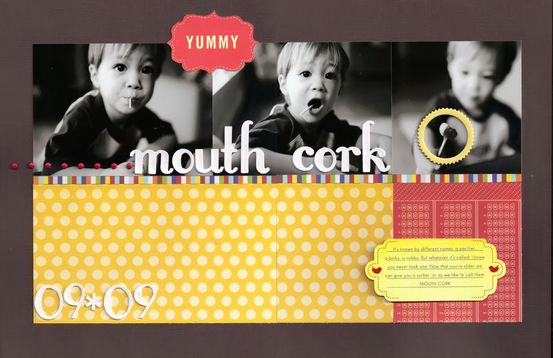 Mouth-cork